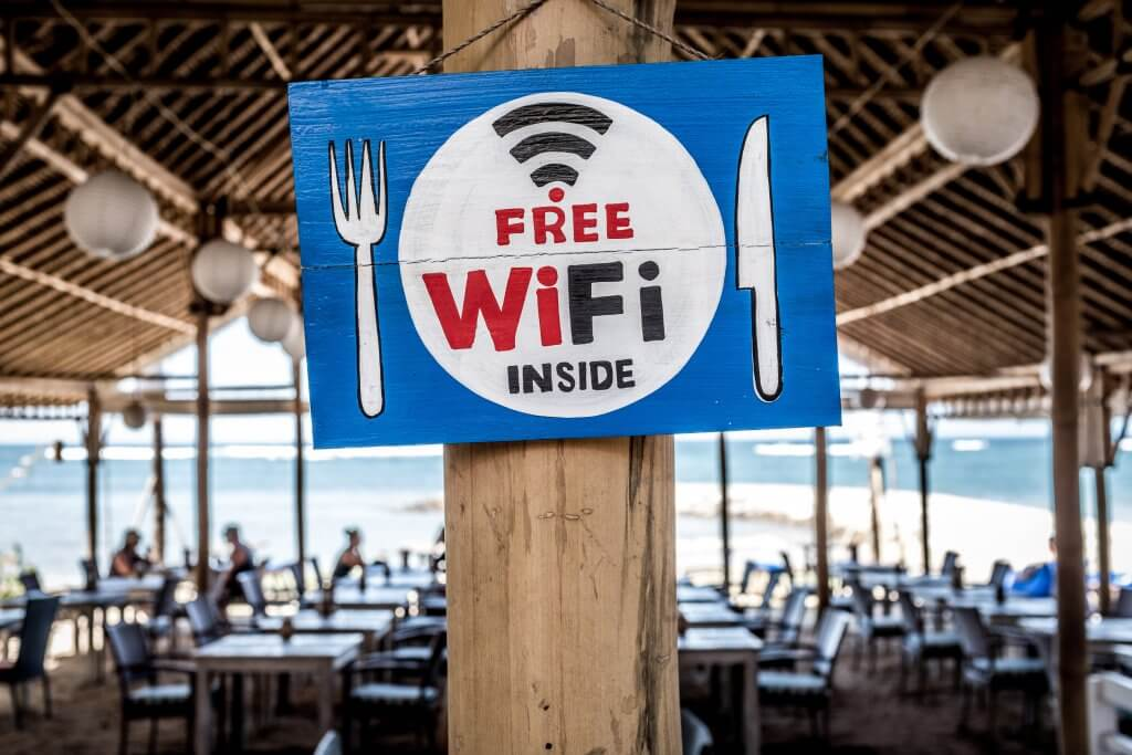 Connecting on unsecured Wi-Fi hotspots means hacking