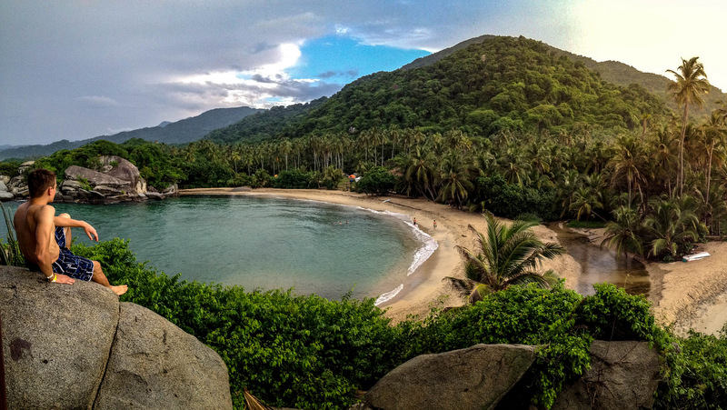 The most visited natural park in Colombia Tayrona