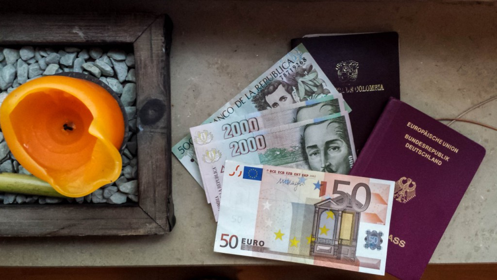 Travel journal: how the exchange rate in Colombia paid my travels