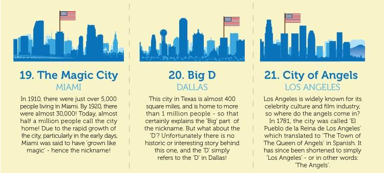 City nicknames Dallas