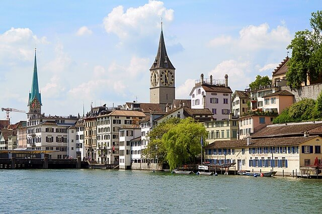 Zurich is the most expensive city in Europe