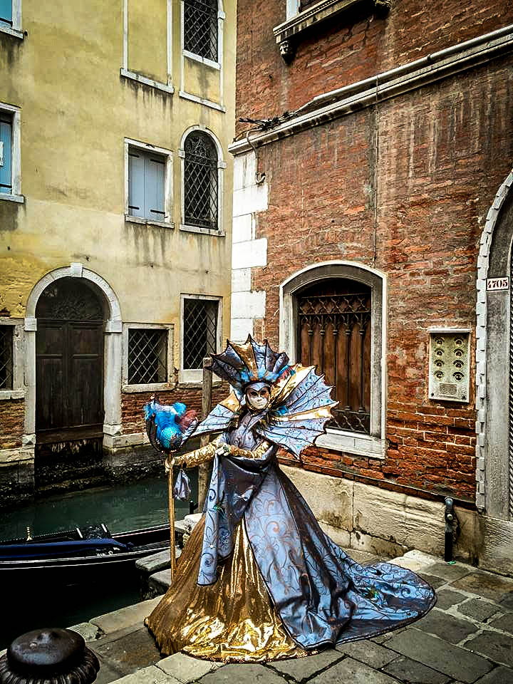 Cannals at the Carnival of Venice