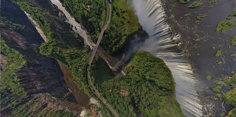 Victoria Falls, Zambia and Zimbawe border