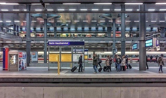 Berlin Central Station - Berlin Hauptbahnhof - Interrail Pass