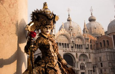 Visiting the Carneval in Venice