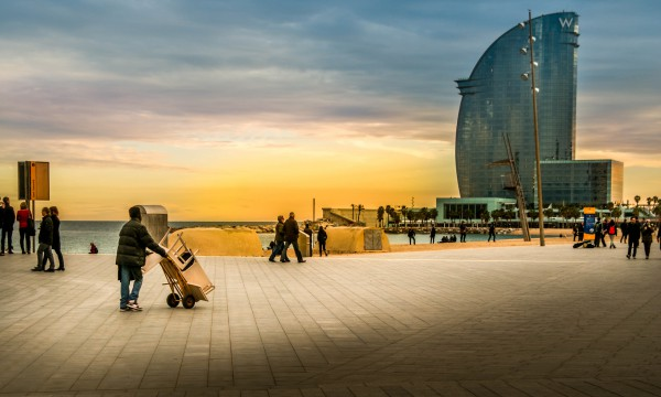 Barcelona is a great getaway for travelers looking for sun, beach and cultural activities - tips for backpacking in Europe