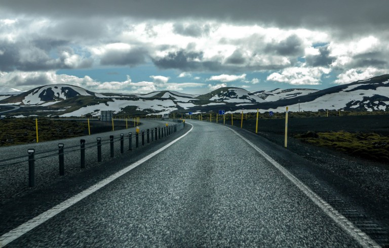 good condition roads in iceland-icelandring-road