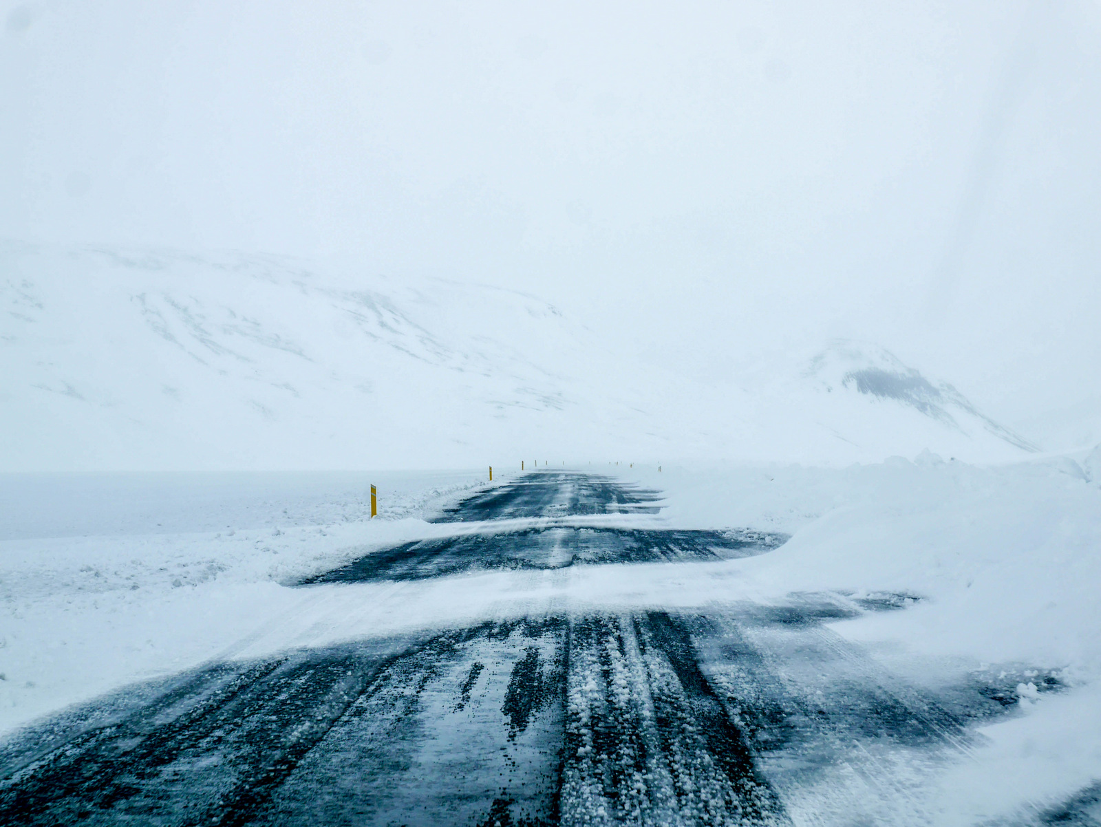 Check the weather conditions at Road.is for finding out information during your road trip
