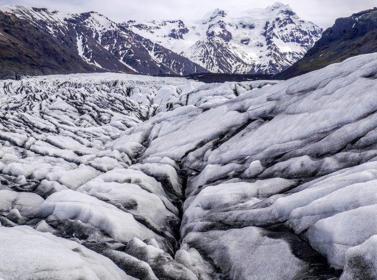 Visiting Iceland's biggest glacier in the heart of the country