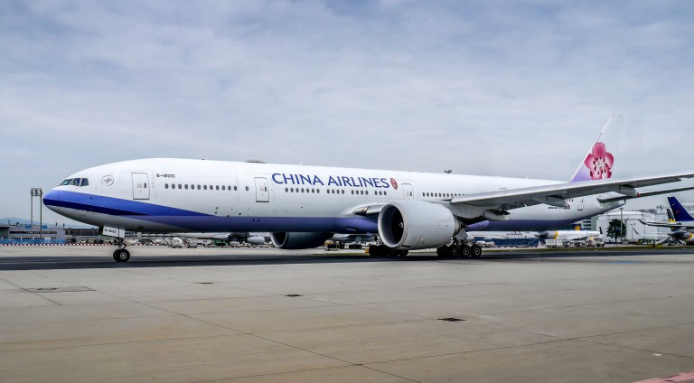 China Airlines Flugzeug