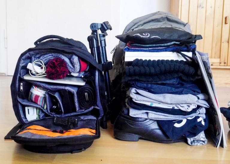 packing list bag