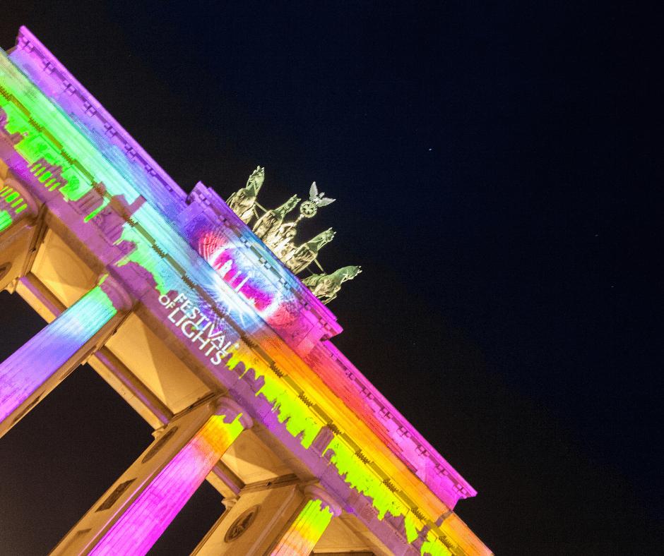 Lights-Festival-Brandenburg Gate