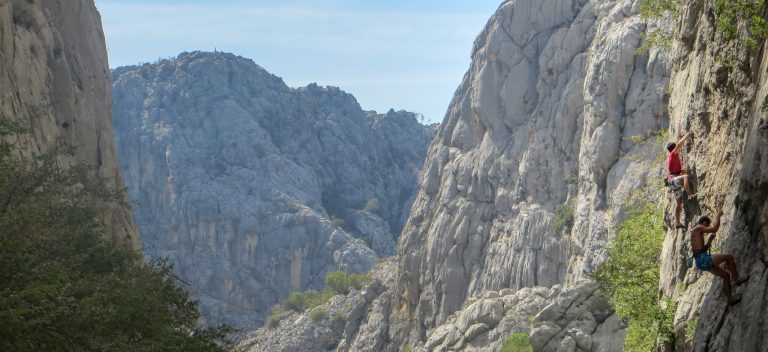 Paklenika National Park is one of the best climbing spots in Southern Europe
