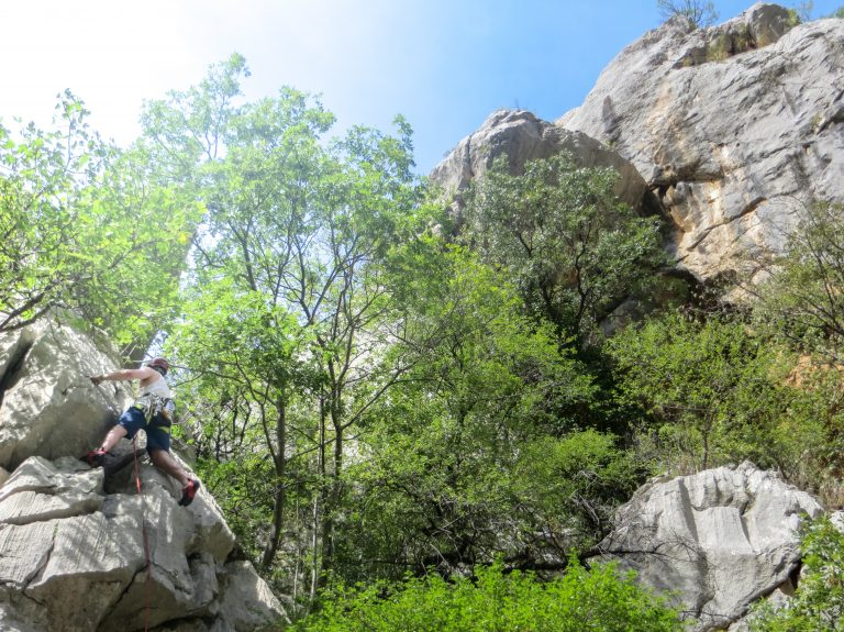 the Paklenika National Park is one of the best spots in Europe for climbers and hikers
