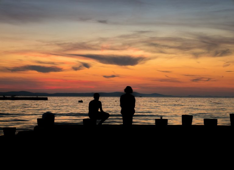 unforgettable and colorful sunsets in Zadar, Croatia