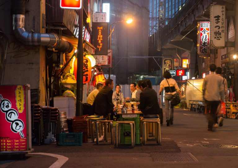 Alternative food tour in Tokyo
