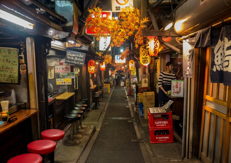 Omoide Yokocho is one of the coolest places in the concrete jungle of Tokyo