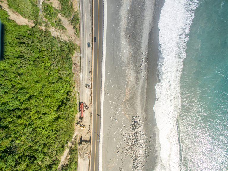Taiwan´s western coastline