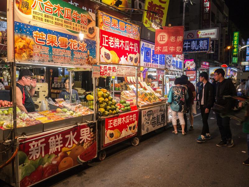 Night markets in rural Taiwan