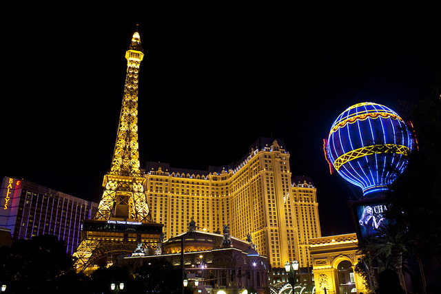 Vegas is a city of lights
