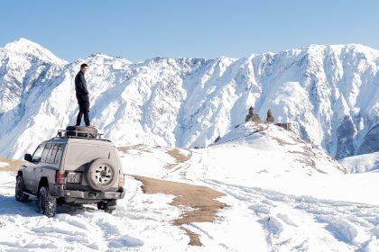 View of Stepandminda in the Caucasus