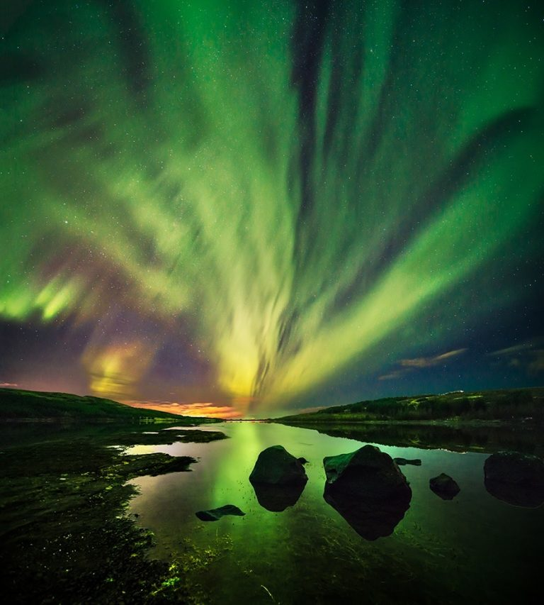 How to take photos of the northern lights in Iceland
