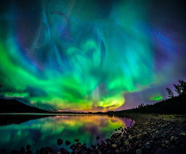 Hallgrimur P. Helgason is probably the best photographer of the northern lights in Iceland