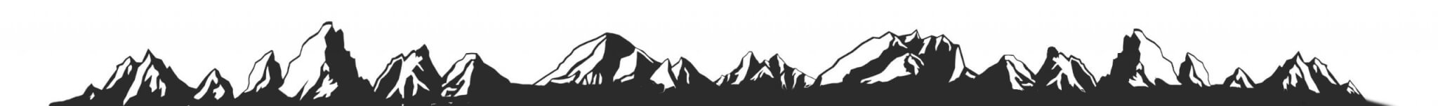 Travelers Buddy Mountains Footer
