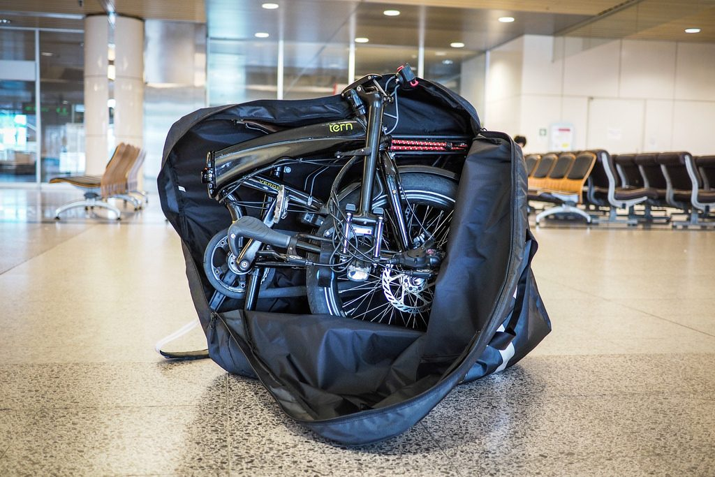 Travel with a bicycle seems more complicated than it actually is.