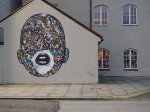 Martin Whatson´s piece in Stavanger - Stavanger street art