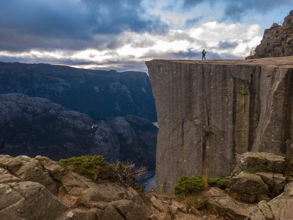 A view to leave you speechless. The pulpit rock is a great stop during a roadtrip in Stavanger