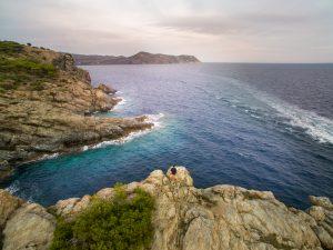 Beautiful landscapes at Cap de Creus Natural Park