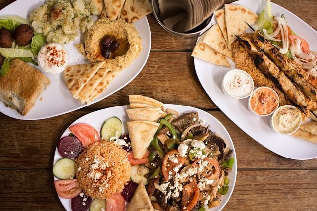 Meze is an authentic Greek experience in which many small plates are shared within a group of 4-6 people