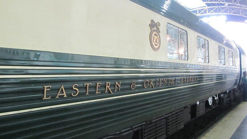 The Eastern & Oriental Express train goes all the way from Bangkok to Singapore.  Trans siberian Express