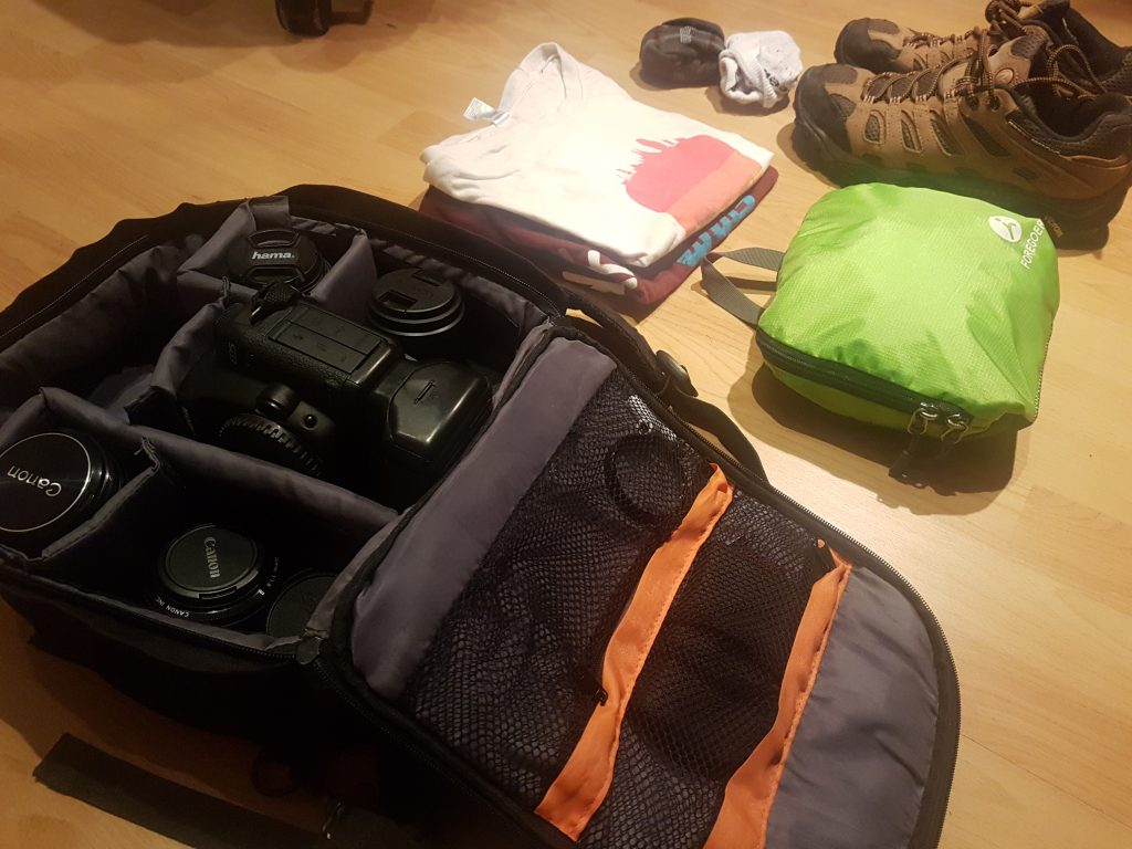 This is how we pack for a train trip across Italy
