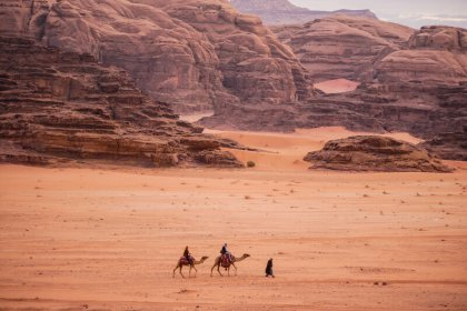 Visiting and camping in Wadi rum