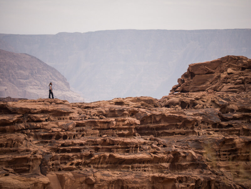 Astonishing views in Wadi Rum