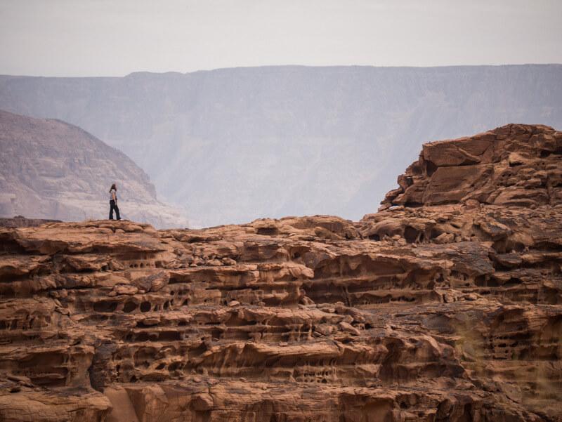 Astonishing views in Wadi Rum
