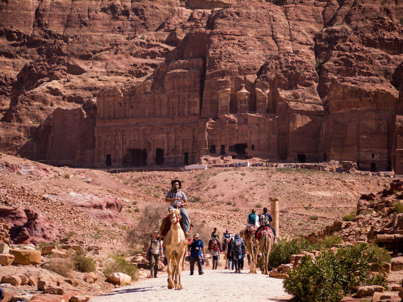 Petra attracts millions of visitors each year