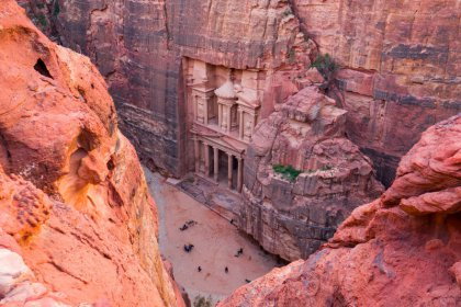 Petra without entrance fee