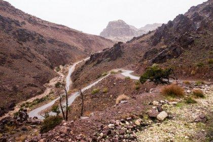 Road trip in Petra and renting a car in Jordan
