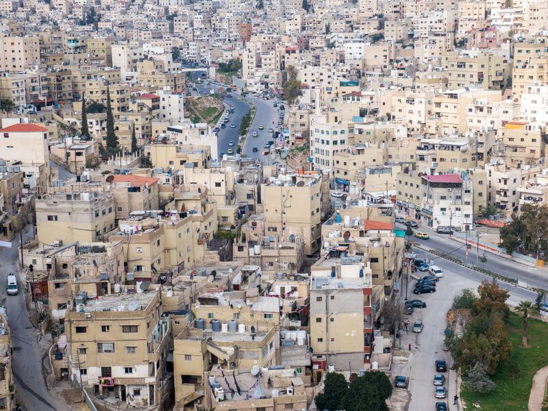 Amman chaotic landscape