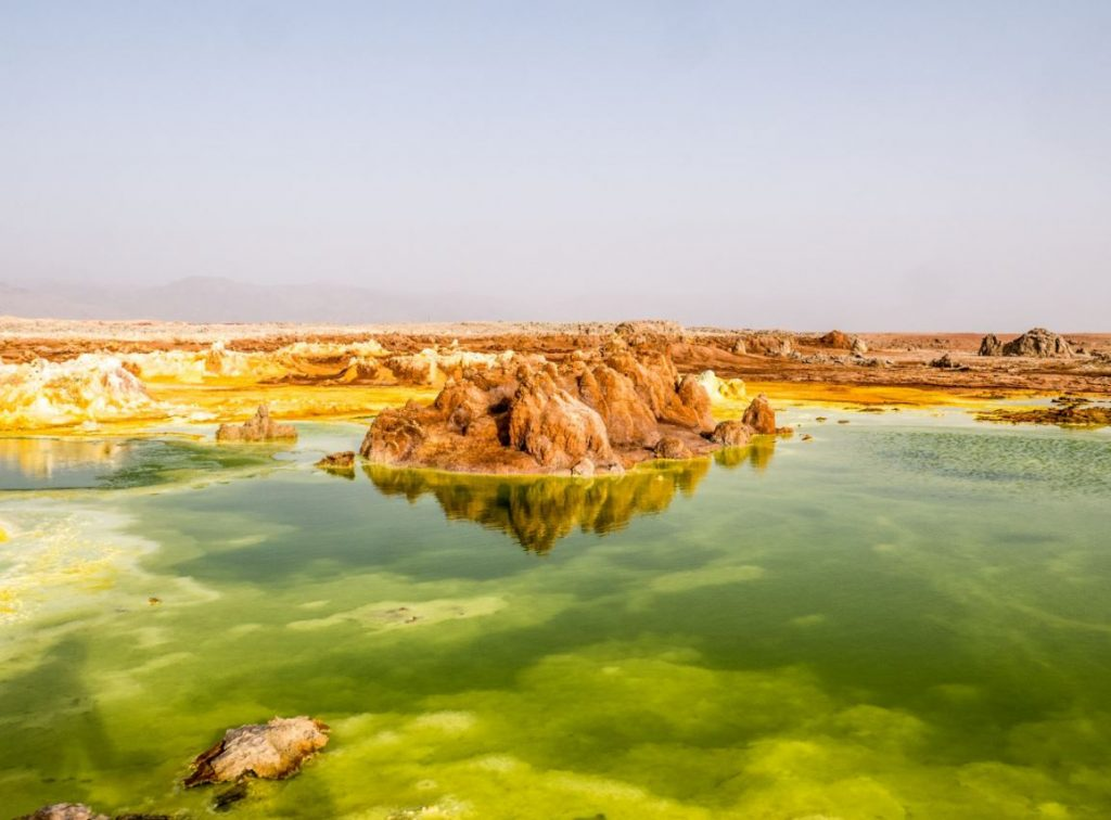 Ethiopia: Wandering around colorful landscapes at the hottest place on earth