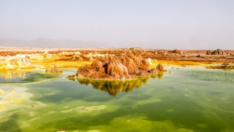 Danakil Ethiopia hottest place on earth