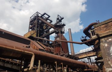 Ostrava Vikovice industrial area