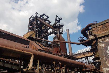 Ostrava Vikovice industrial area