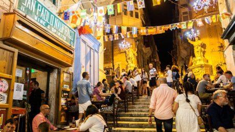 Nightlife Malta in Autumm