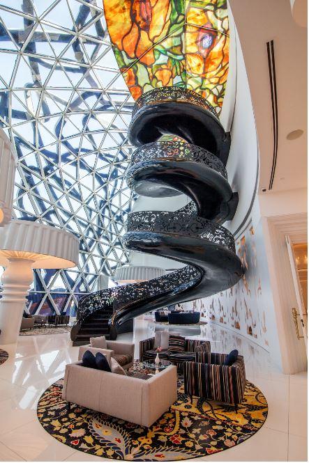 Lobby at the Mondrian Doha in Qatar