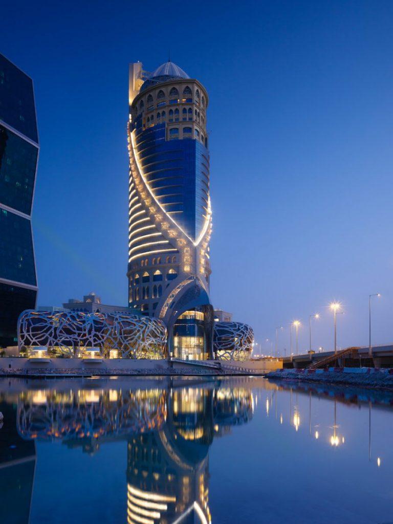 Mondrian Doha Qatar design