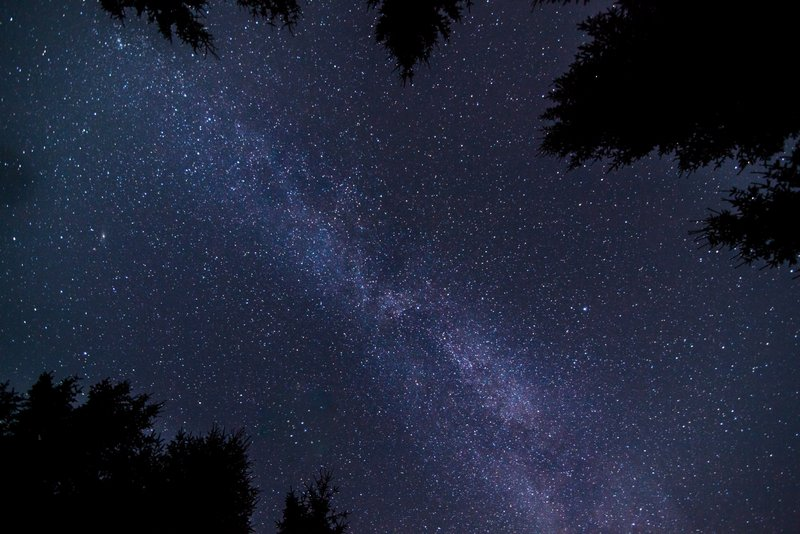 Camera settings when photographing the milky way in Czech Republic